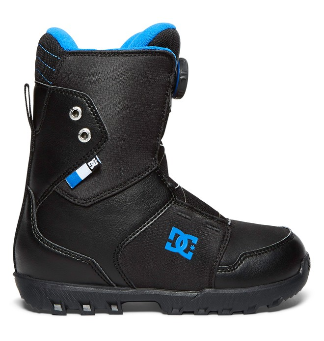 0 Youth Scout - Winter Boots Black ADBO100004 DC Shoes