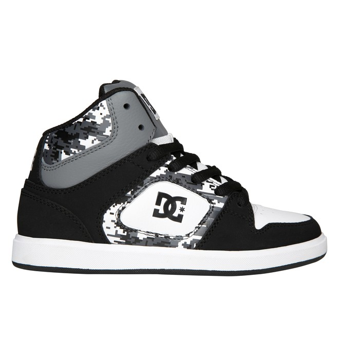 0 Kid's Union High SE ER Shoes White ADBS100006 DC Shoes