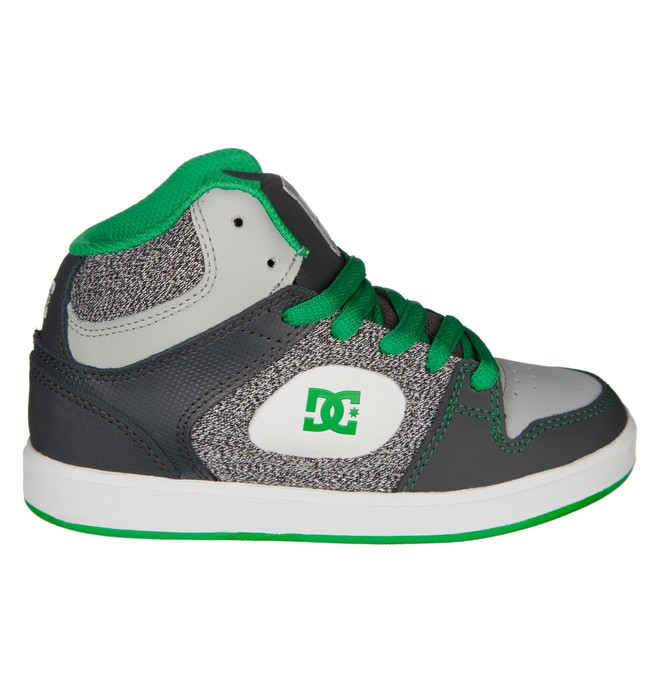 0 Kid's Union High SE ER Shoes Grey ADBS100006 DC Shoes