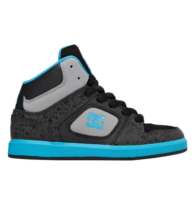 0 Kid's Union High SE ER Shoes Black ADBS100006 DC Shoes