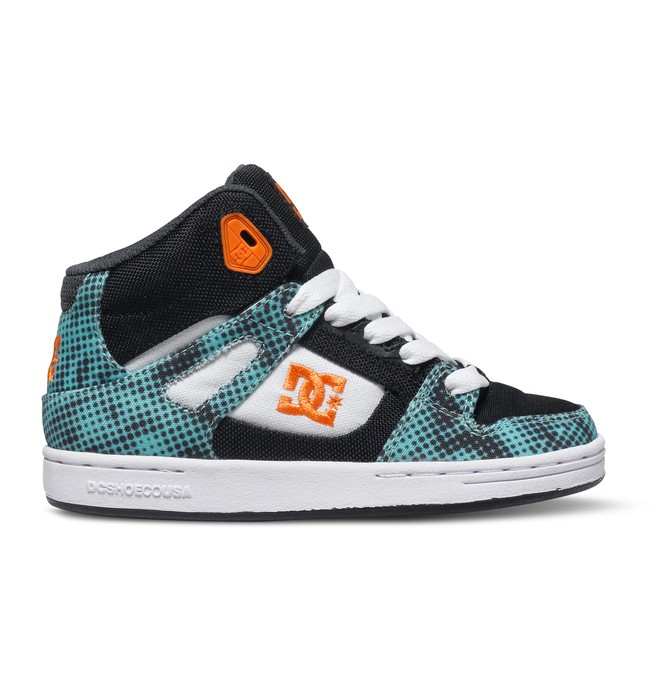 0 Boy's 4-7 Rebound TX SE High-Top Shoes Multicolor ADBS100068 DC Shoes