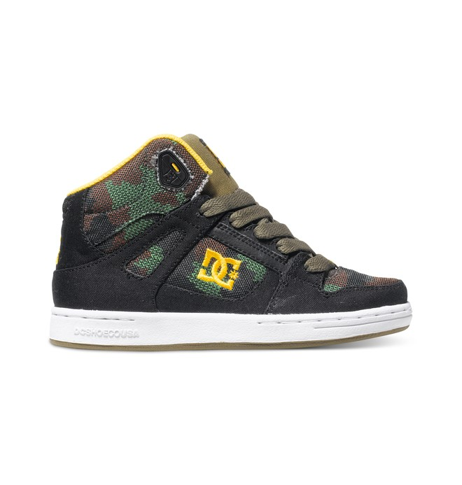 0 Kid's 8-16 Rebound TX SE High-Top Shoes  ADBS100069 DC Shoes