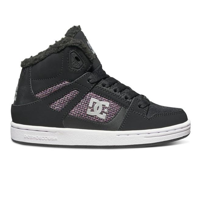 0 ReboundWNT - Zapatos de invierno de corte alto Negro ADBS100075 DC Shoes