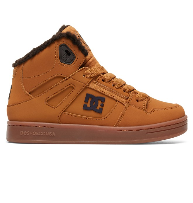 0 ReboundWNT - Scarpe alte Winterized Beige ADBS100075 DC Shoes