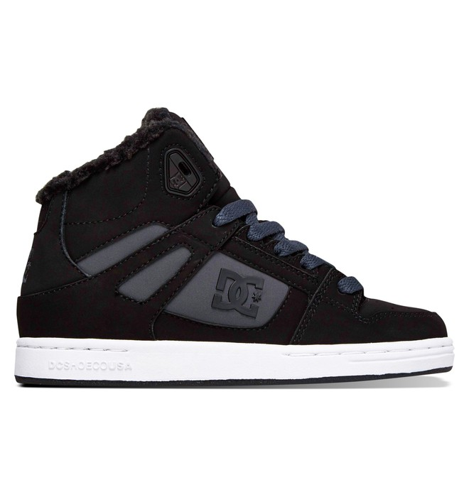 0 Kids 8-16 Rebound WNT High-Top Shoes  ADBS100076 DC Shoes