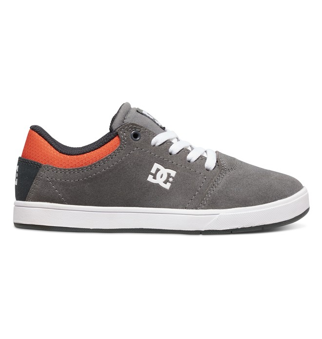 0 Kid's 4-7 Crisis Shoes Grey ADBS100079 DC Shoes