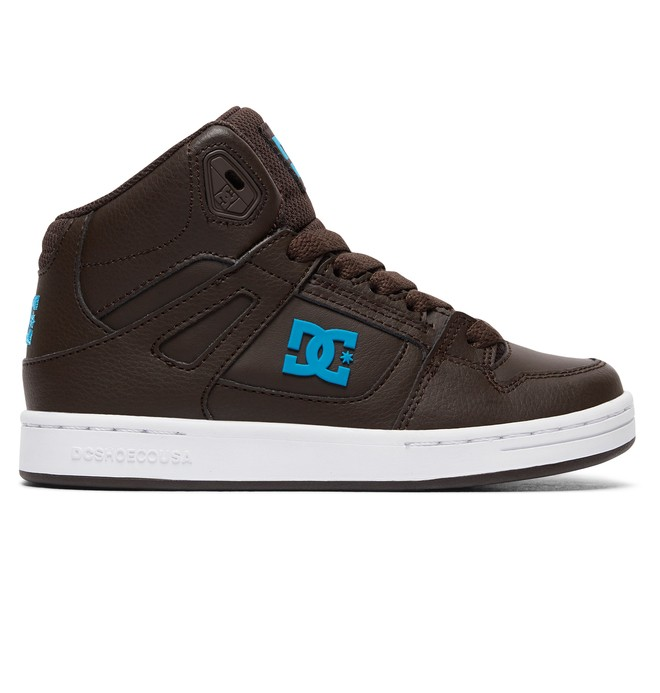 0 Rebound - Chaussures montantes Marron ADBS100214 DC Shoes