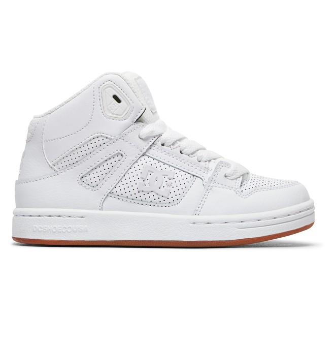 0 Pure High-Top - Chaussures montantes Blanc ADBS100242 DC Shoes