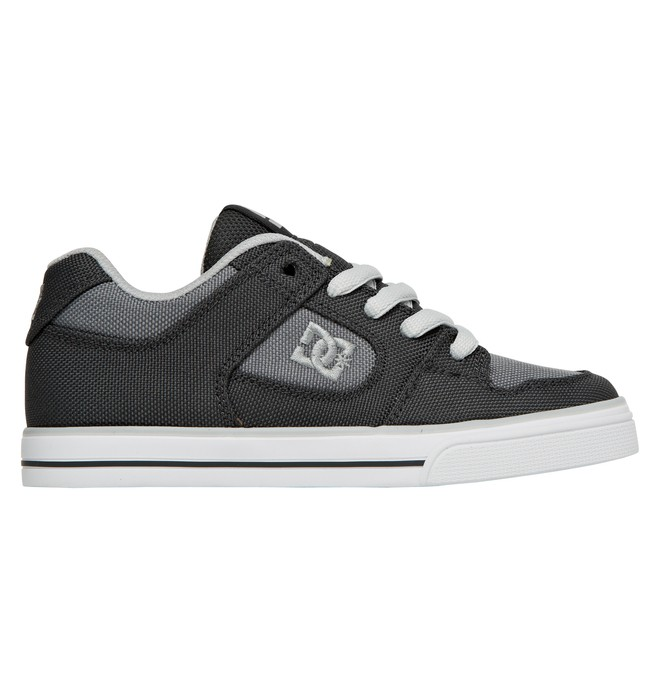 0 Boy's Pure TX Shoes Grey ADBS300007 DC Shoes