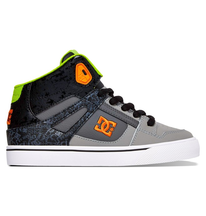 0 Kid's 4-7 Spartan SE High-Top Shoes  ADBS300012 DC Shoes