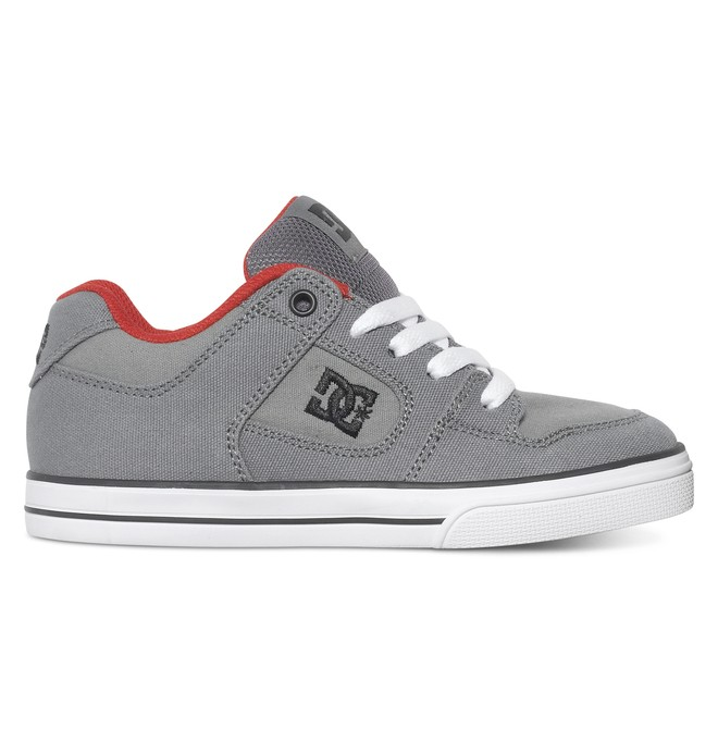 0 Boy's 8-16 Pure TX Low Top Shoes  ADBS300025 DC Shoes
