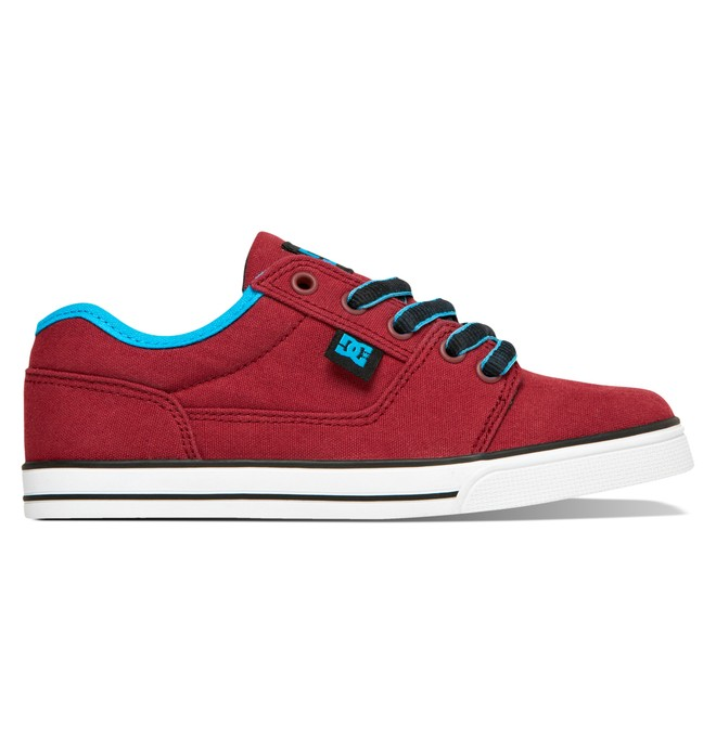 0 Boy's 8-16 Tonik TX Shoes Red ADBS300035 DC Shoes