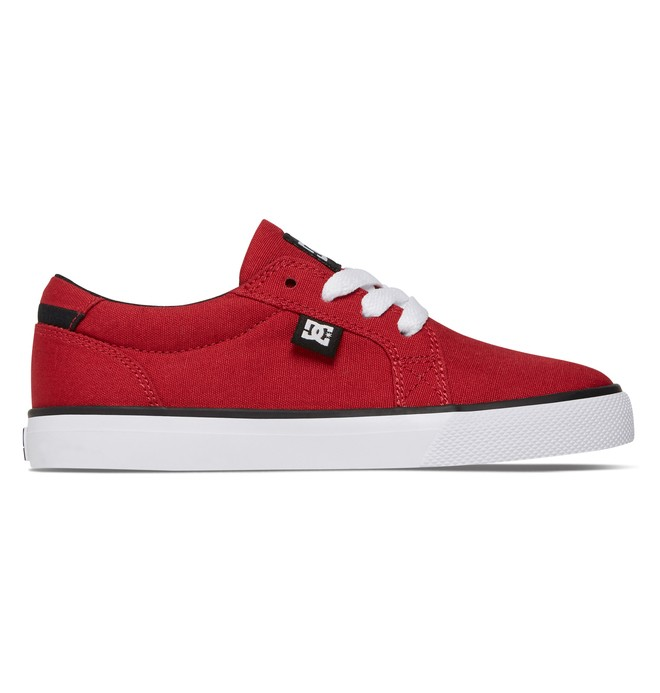 0 Boy's 8-16 Council TX Low Top Shoes Red ADBS300047 DC Shoes