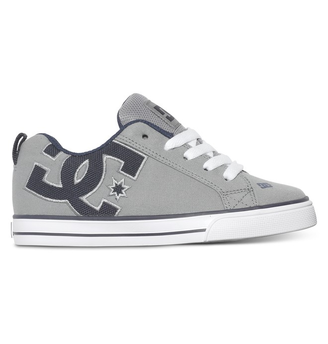 0 Boy's 8-16 Court Graffik Vulc TX Low Top Shoes  ADBS300096 DC Shoes