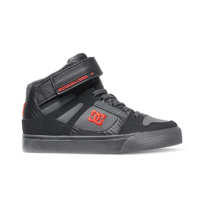 0 Kid's 4-7 Spartan SE EV High-Top Shoes  ADBS300112 DC Shoes