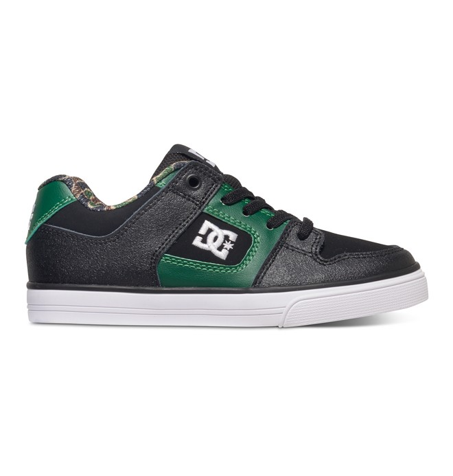 0 Pure Elastic SE - Slip-On Lace-Look Shoes Black ADBS300222 DC Shoes