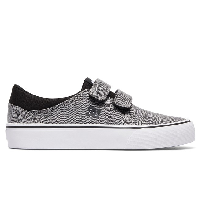 0 Kid's Trase V TX SE Shoes Grey ADBS300254 DC Shoes