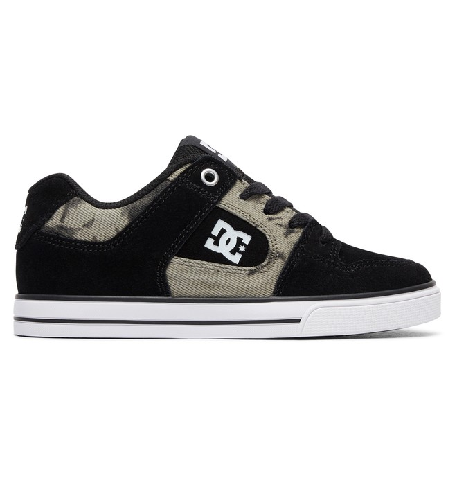 0 Kid's Pure SE Shoes Black ADBS300258 DC Shoes