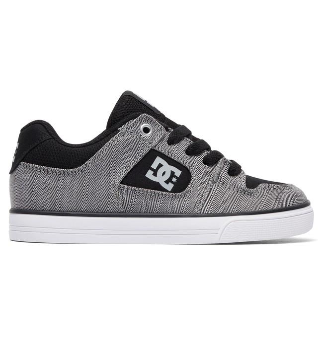 0 Kid's Pure TX SE Shoes Black ADBS300259 DC Shoes