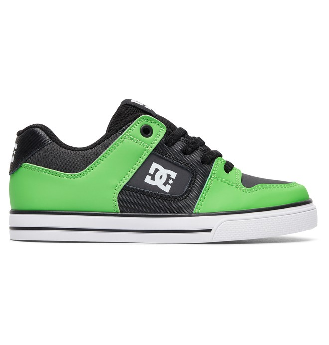 0 Pure Elastic SE - Shoes Green ADBS300273 DC Shoes