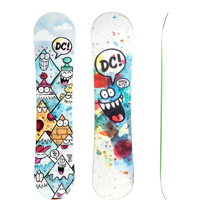 0 Boy's Kevin Lyons Ply Mini Snowboard  ADBSB03000 DC Shoes
