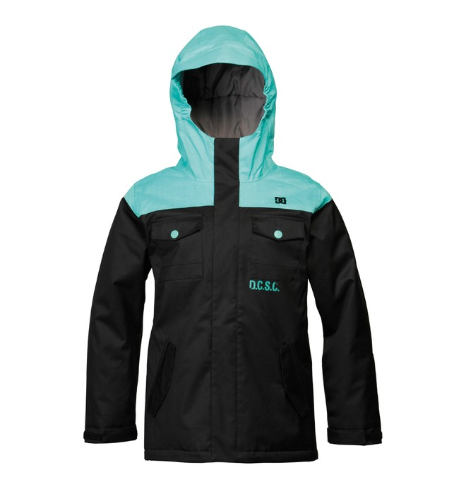 0 Boy's Servo Snowboard Jacket  ADBTJ00000 DC Shoes