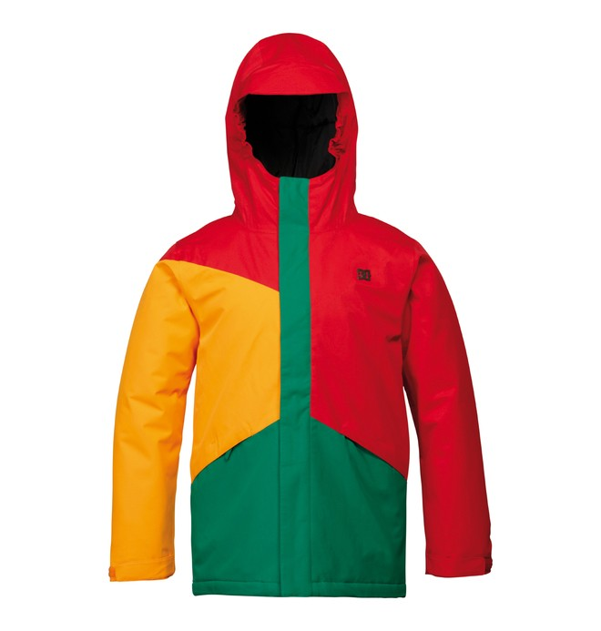 0 Boy's Amo Snowboard Jacket Red ADBTJ00001 DC Shoes