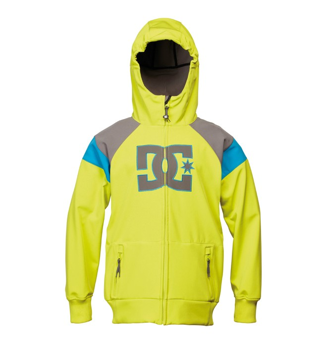 0 Boy's Spectrum Snowboard Jacket Green ADBTJ00003 DC Shoes