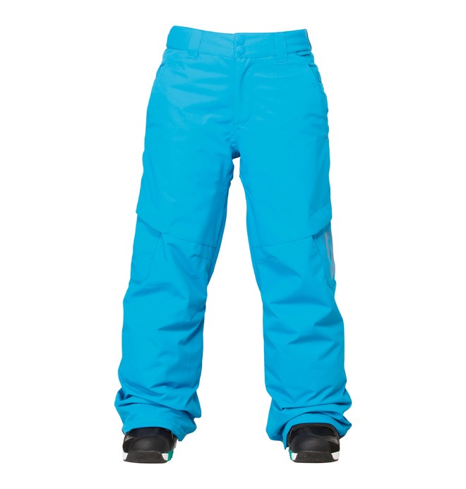 0 Boy's Banshee Snowboard Pants Blue ADBTP00002 DC Shoes