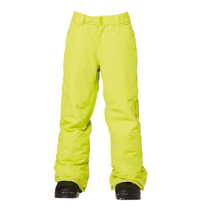 0 Boy's Banshee Snowboard Pants Green ADBTP00002 DC Shoes