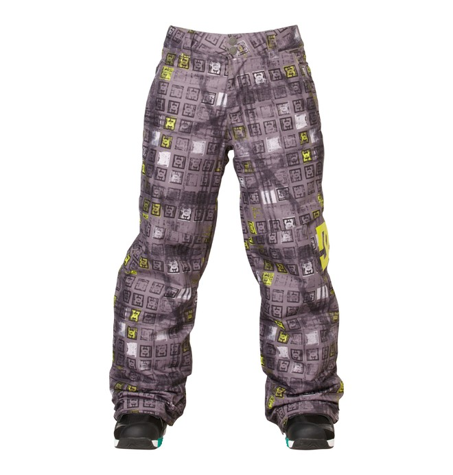 0 Boy's Banshee Snowboard Pants Black ADBTP00002 DC Shoes