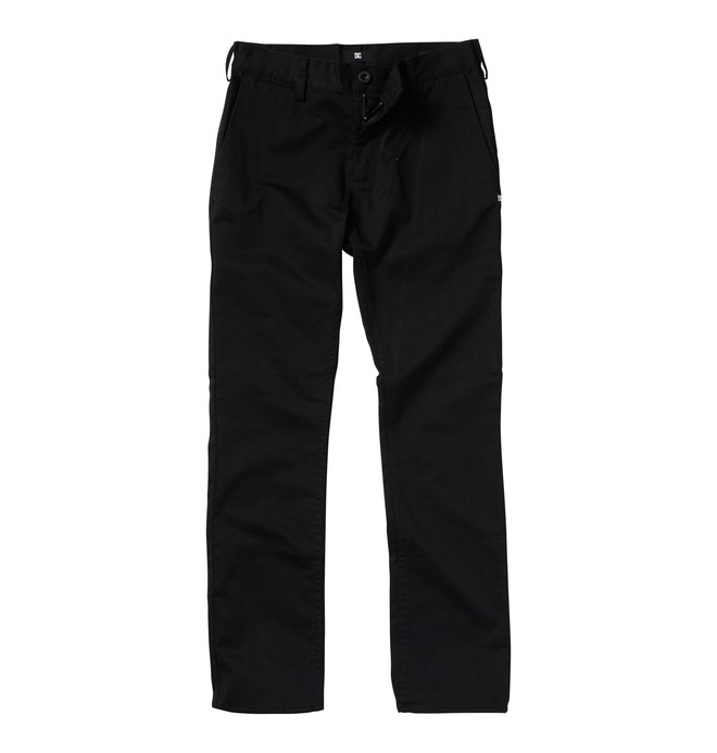 0 Boy's 8-16 DC Worker Pants Black ADBWP00000 DC Shoes
