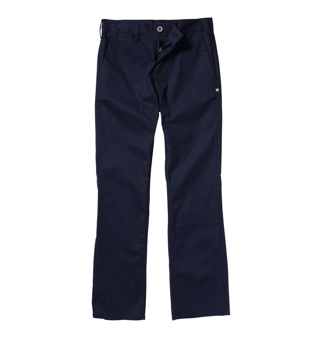 0 Boy's 8-16 DC Worker Pants Blue ADBWP00000 DC Shoes