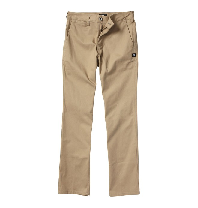 0 Boy's 8-16 DC Worker Pants Beige ADBWP00000 DC Shoes