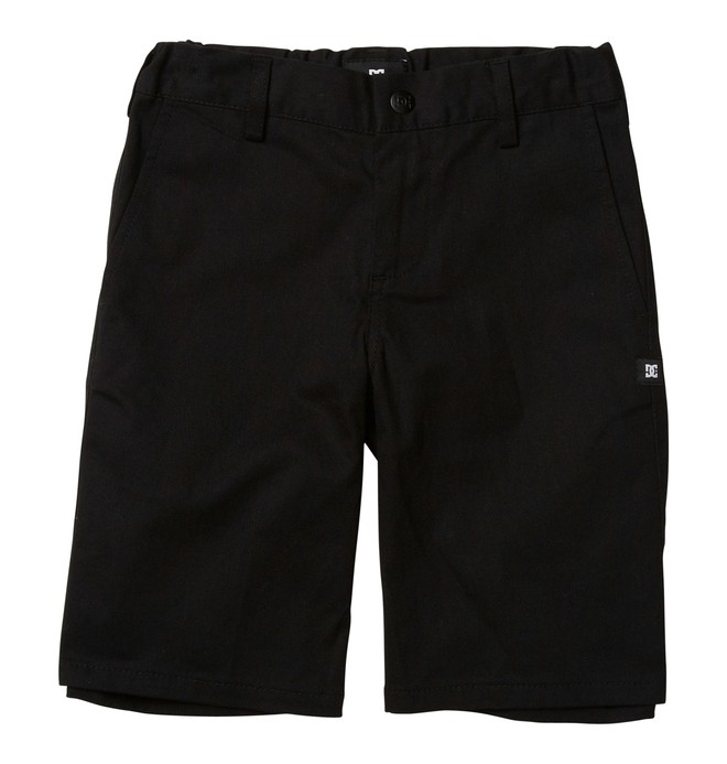 0 Kid's DC Worker Shorts Black ADBWS00003 DC Shoes