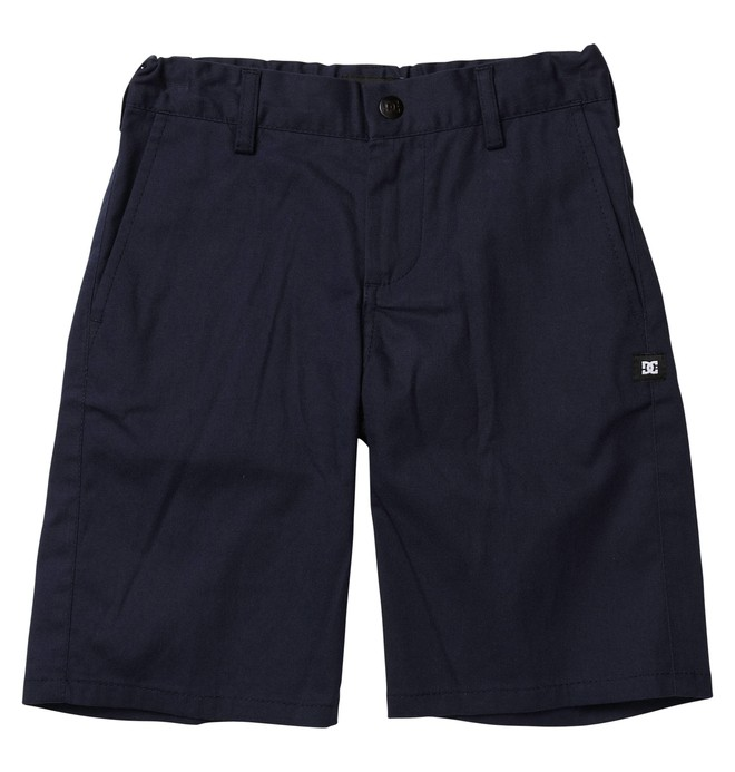 0 Kid's DC Worker Shorts Blue ADBWS00003 DC Shoes