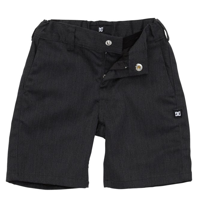 0 Kid's DC Worker Shorts Grey ADBWS00003 DC Shoes