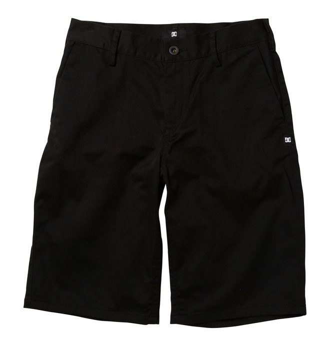 0 Boy's DC Worker Shorts Black ADBWS00004 DC Shoes