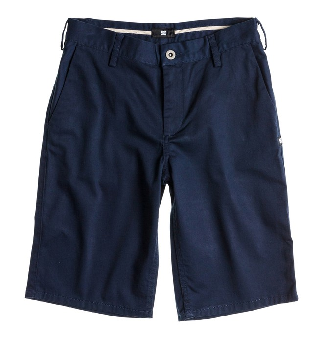 0 Boy's DC Worker Shorts Blue ADBWS00004 DC Shoes