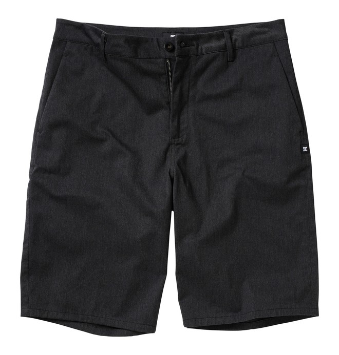 0 Boy's DC Worker Shorts Grey ADBWS00004 DC Shoes