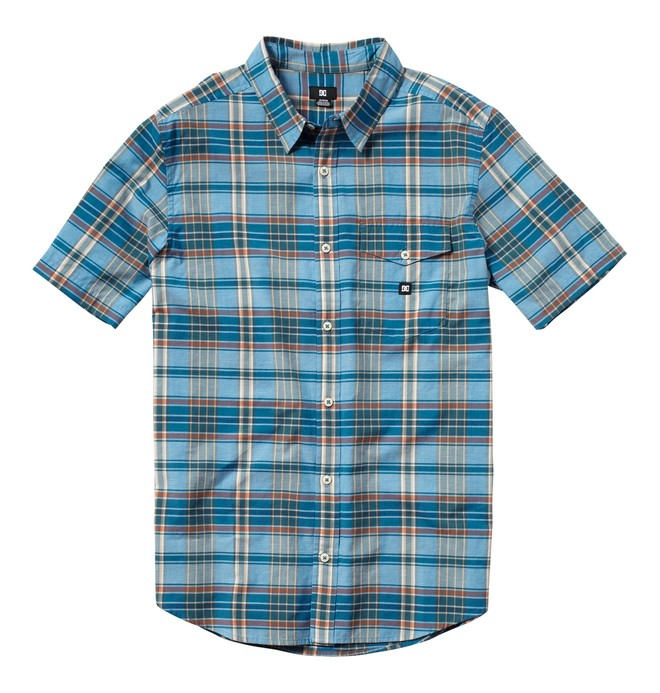 0 Boy's Dignan Short Sleeve Shirt  ADBWT00000 DC Shoes