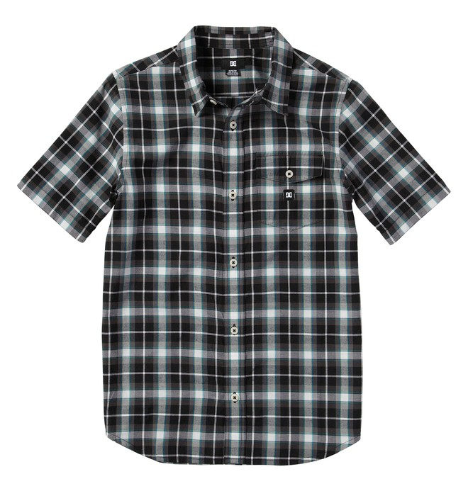 0 Boy's Jocko Short Sleve Shirt  ADBWT00009 DC Shoes