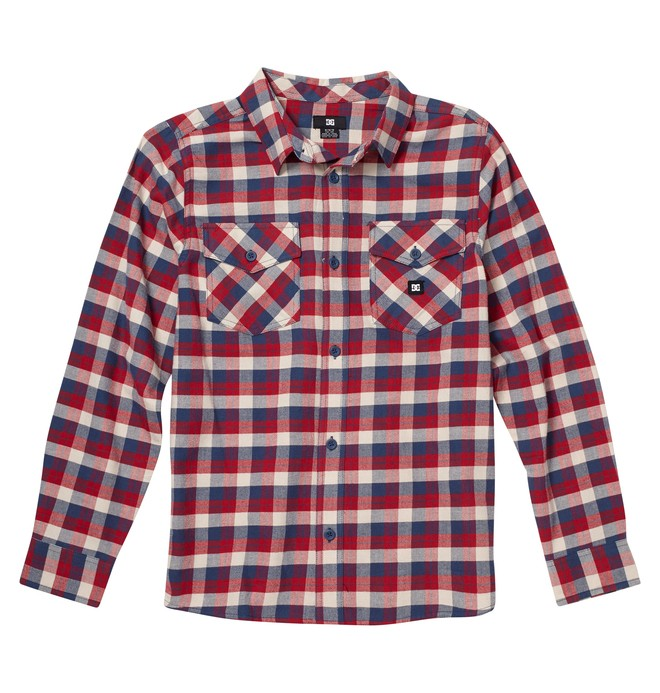 0 Boy's Long Sleve Flannel Shirt  ADBWT00011 DC Shoes