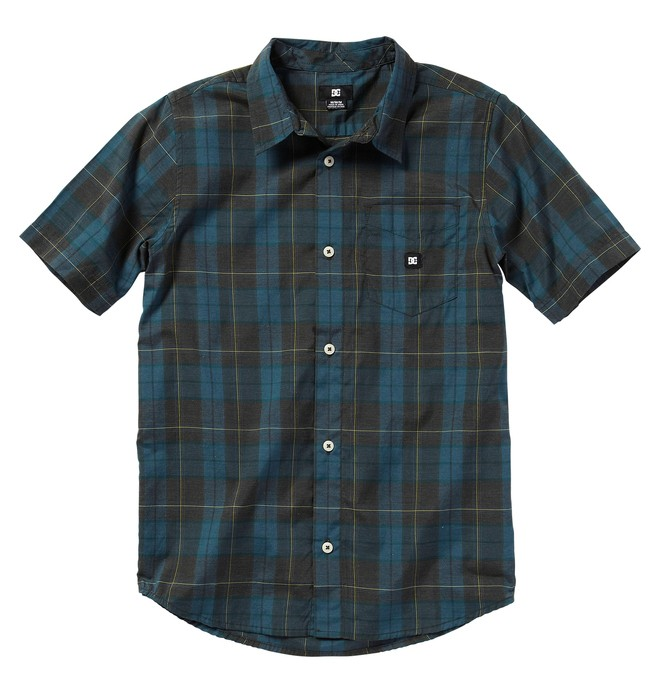 0 Kid's DHARMA SSBY Shirts  ADBWT00018 DC Shoes