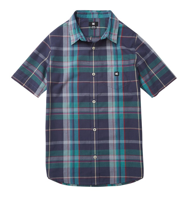 0 Boy's Booker SS Shirt  ADBWT00031 DC Shoes