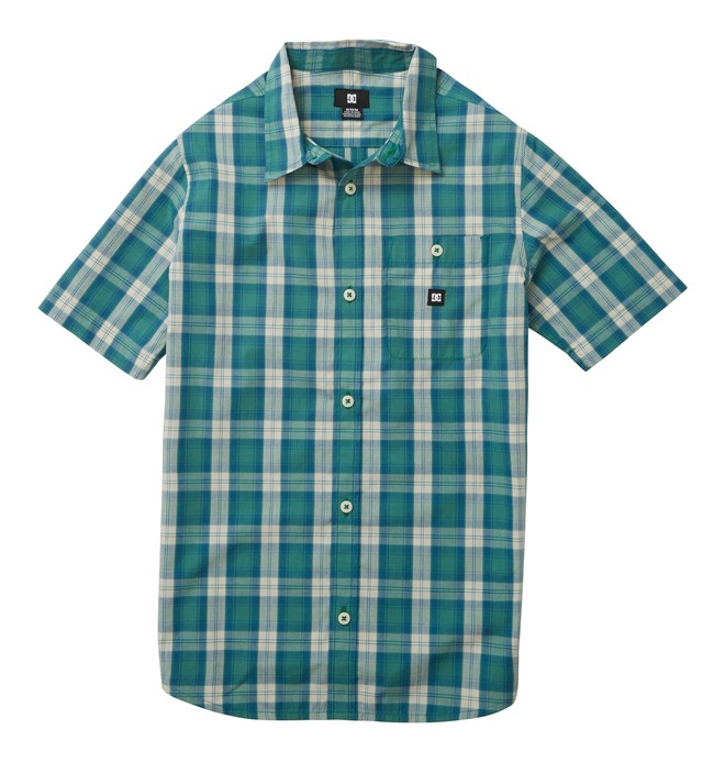 0 Boy's Deeps SS Shirt  ADBWT00032 DC Shoes