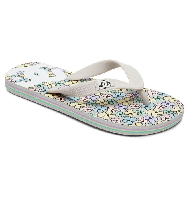 0 Spray Graffik - Flip-Flops Grey ADGL100006 DC Shoes