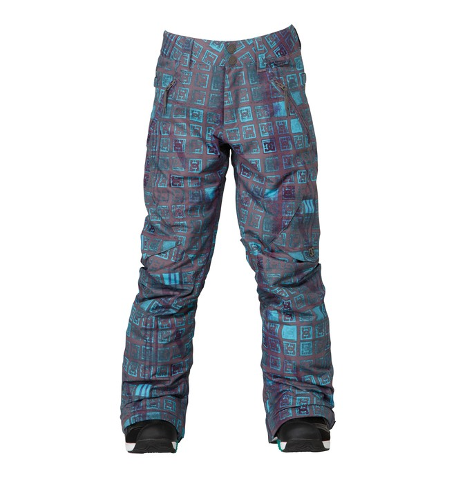 0 Girl's Ace Snowboard Pant Black ADGTP00001 DC Shoes