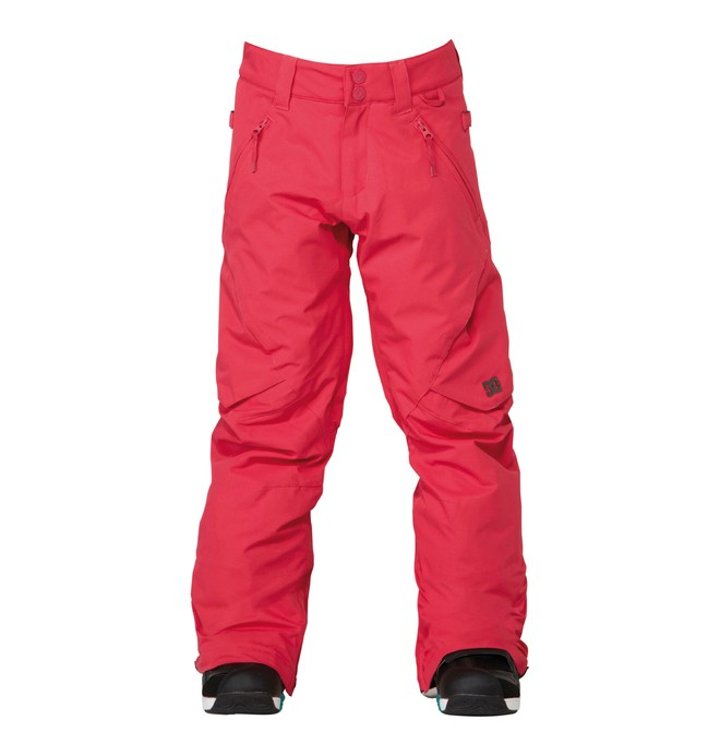 0 Girl's Ace Snowboard Pant Pink ADGTP00001 DC Shoes