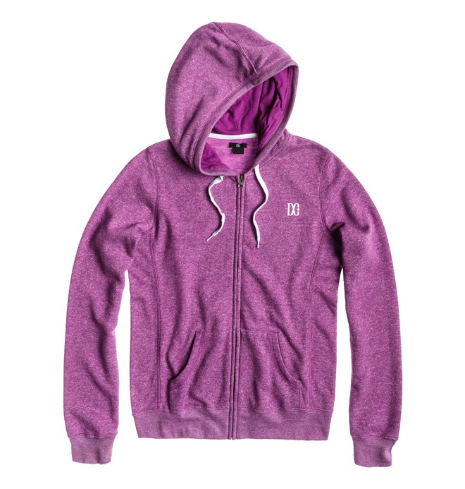 0 Women's Rebel Star ZH Hoodie Purple ADJFT00043 DC Shoes